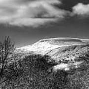 Fan Fawr Brecon Beacons 1 Mono Art Print