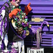 Fan Man 1 Art Print