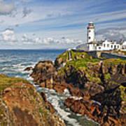 Fanad Lighthouse Donegal Ireland Art Print