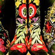 Fancy Boots Art Print