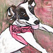 Fancy Little Girl Art Print