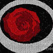 Fancy Rose Art Print