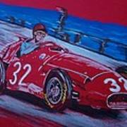 Fangio At Monaco 57 Art Print