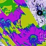 Fantasi Violaflori Art Print by Halina Nechyporuk