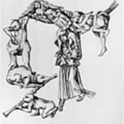 Fantastic Alphabet, C1465 Art Print