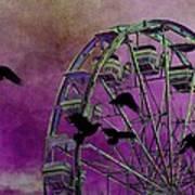 Fantasy Ferris-wheel Art Print