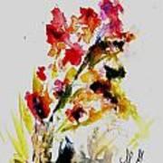 Fantasy Flowers 3 Art Print