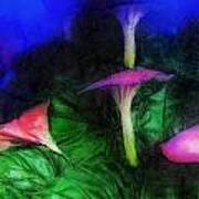 Fantasy Flowers Lux Art Print