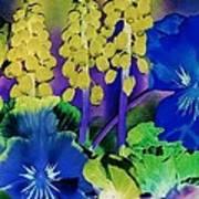 Fantasy Garden Art Print