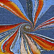 Fantasy In Blue Art Print