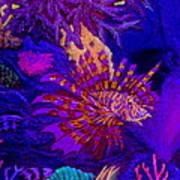 Fantasy Lionfish Art Print