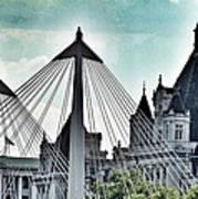 Fantasy London . Old Spires New Art Print