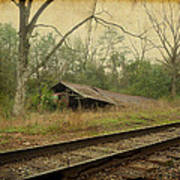 Far Side Of The Tracks Art Print