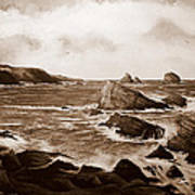 Faraid Head Durness Scotland Art Print