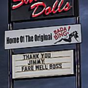 Farewell Boss Art Print