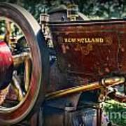 Farm Equipment - New Holland Feed And Cob Mill Art Print by Paul Ward