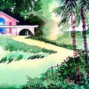 Farm House New Print by Anil Nene