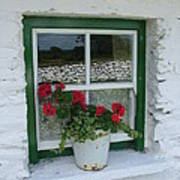 Farm House Window Art Print