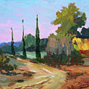 Farm In Provence Art Print