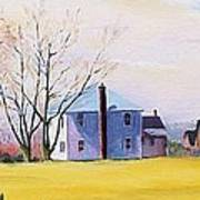Farm In Spring Art Print