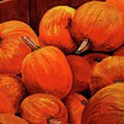 Farm Market Pumpkins Art Print