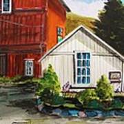 Farm Store Art Print by John Williams