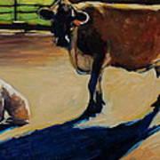 Farm Visit Art Print