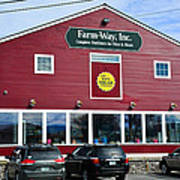 Farm- Way  Www.vermontgear.com Art Print