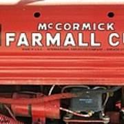 Farmall Cub Art Print