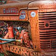 Farmall Tractor Art Print by Bill Wakeley