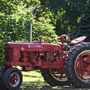 Farmall's End Of Day Art Print