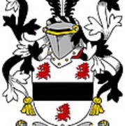 Farmer Coat Of Arms Irish Art Print