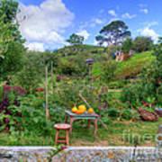 Farmer Maggot Garden Art Print