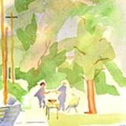 Farmers Market Vll Art Print