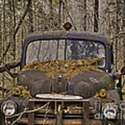 Farmers Old Work Truck Art Print