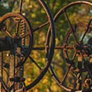 Farmers Tools Of Old Art Print