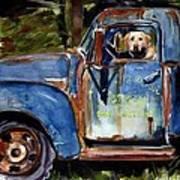 Farmhand Art Print by Molly Poole