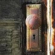 Farmhouse Doorknob Art Print