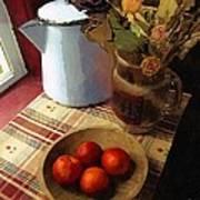 Farmhouse Fruit And Flowers Art Print