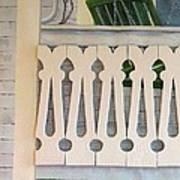 Farmhouse Porch Left Side Art Print