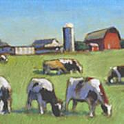 Farming In The Dell Art Print