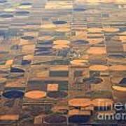 Farming In The Sky 2 Art Print
