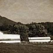 Farming The Shenandoah  Art Print