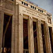 Farrington Field Facade Art Print