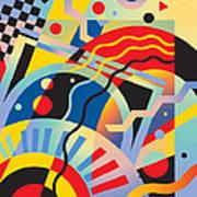 Fascinating Rhythm 5 Art Print