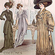 Fashion Advert For Eloy Mignot Art Print