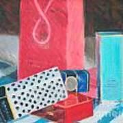 Fashion Boxes Art Print