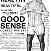 Fashion Corset, 1890 Art Print