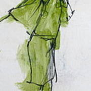 Fashion Drawing From Art Center College - 1962 Art Print