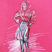 Fashion Figure Art Print